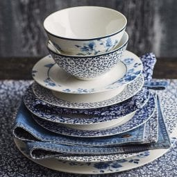 NIEUW! Servies van Laura Ashley collectie!